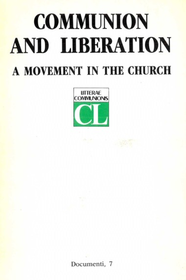 From which life is C.L. born. In Communion and Liberation: A movement in the Church