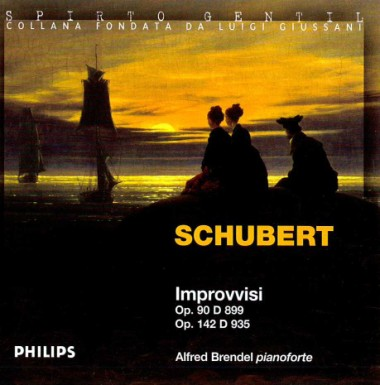 As on Tip-toe. In Schubert, Franz. Improvvisi op. 90 D 899. Op. 142 D 935