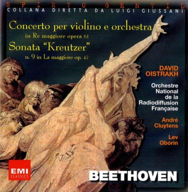"A Home for the Self. In van Beethoven, Ludwig. Concerto per violino e orchestra in Re maggiore op. 61. Sonata ""Kreutzer"" n. 9 in La maggiore op. 47"