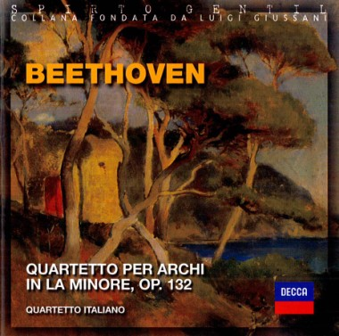 A Dialogue With the One Who Made Our Heart. In van Beethoven, Ludwig. Quartetto per archi in la minore, op. 132
