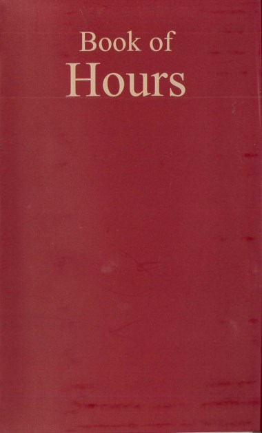 Friday Hours. In Book of Hours